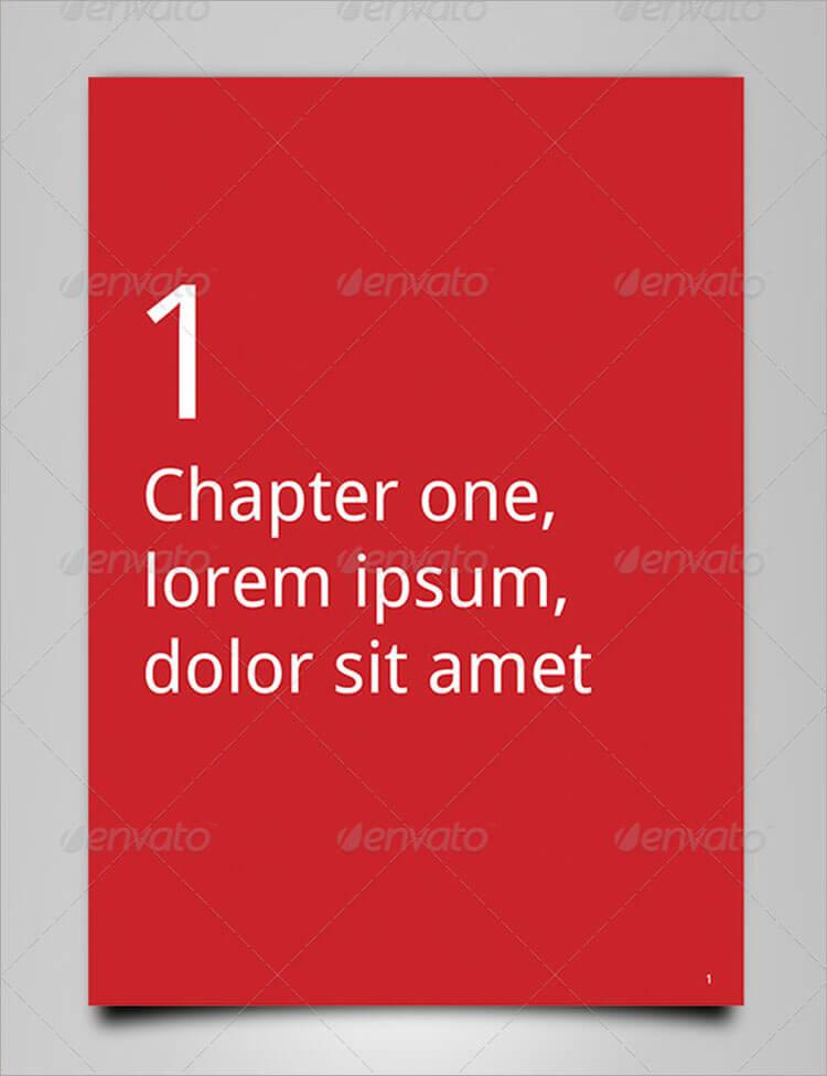 Clean Book Brochure Template