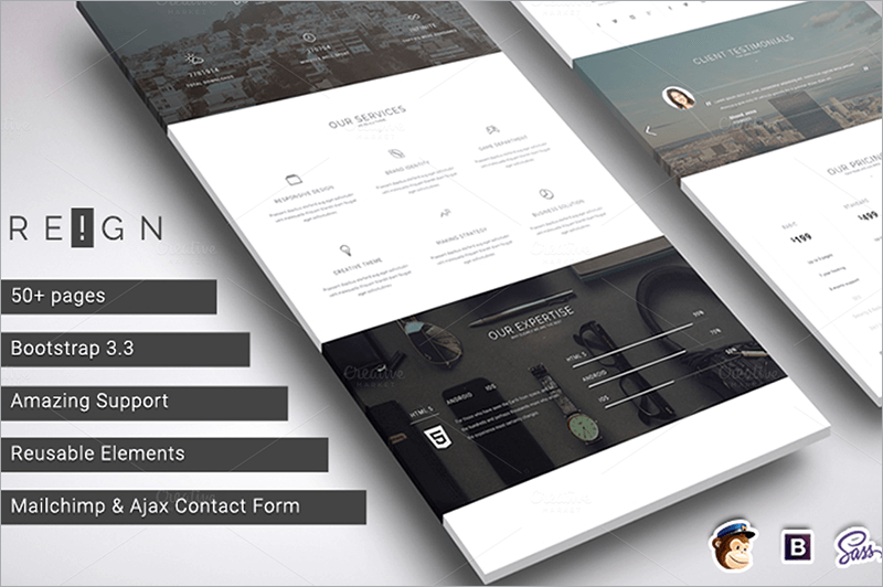 Corporate Agency Bootstrap Theme