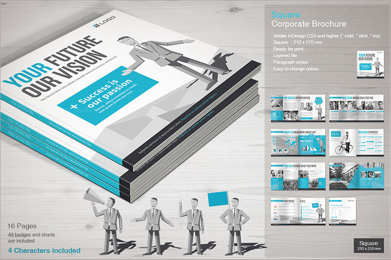4 column brochure template - 23 online brochure templates free word design formats