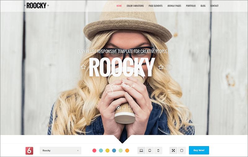 Creative SEO Website Joomla Template