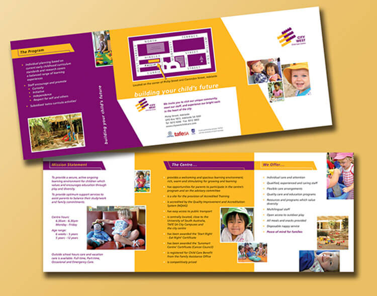 Daycare Brochure Templates | Free & Premium Templates | Creative