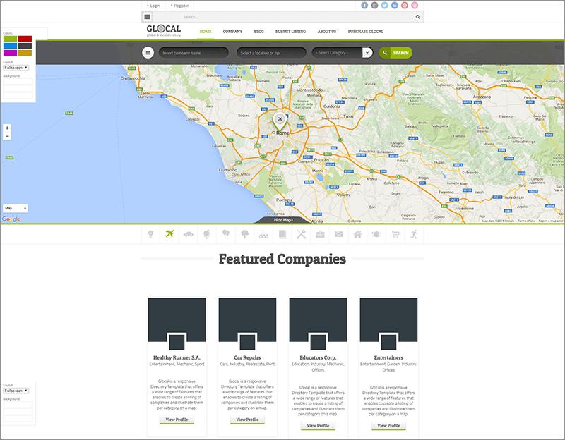 Directory & Listings WordPress Theme