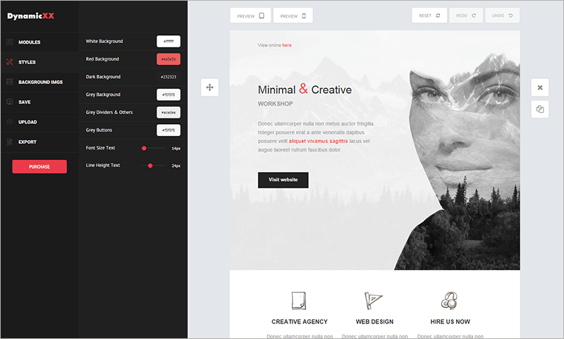 Dynamic Email Template