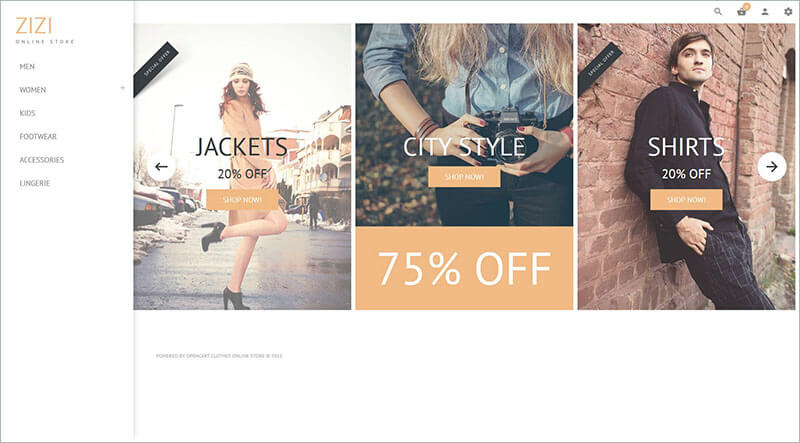 Fashion Clothes PHP Template