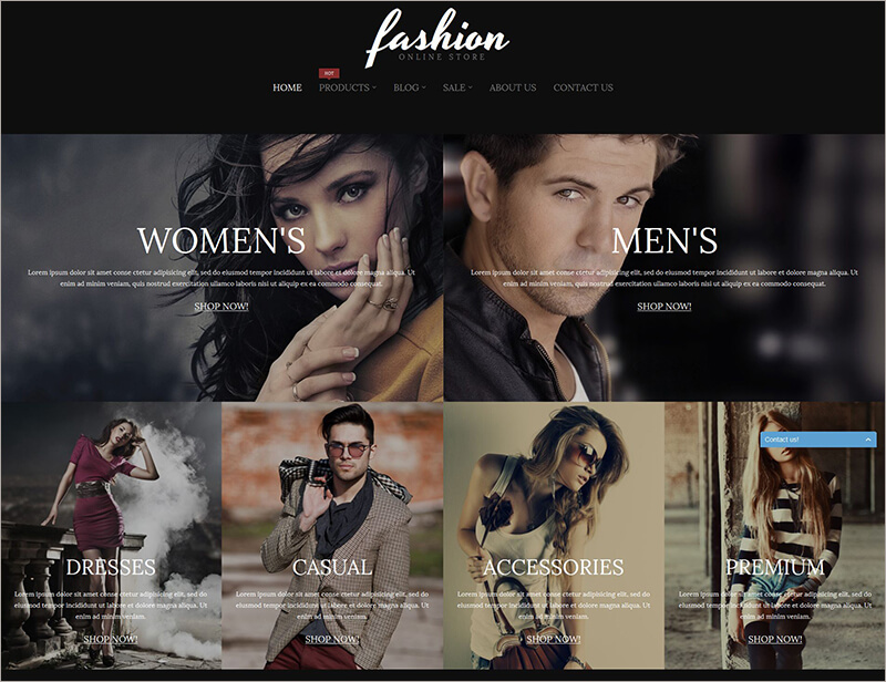 Fashion Online Store Blog