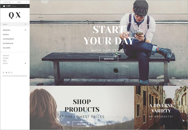 Fashion Shop PHP Theme