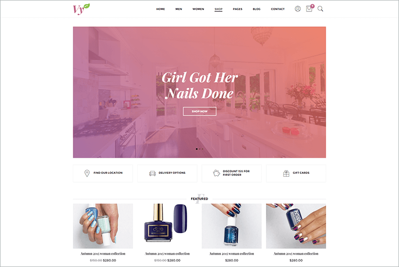 Fashion eCommerce PHP Template