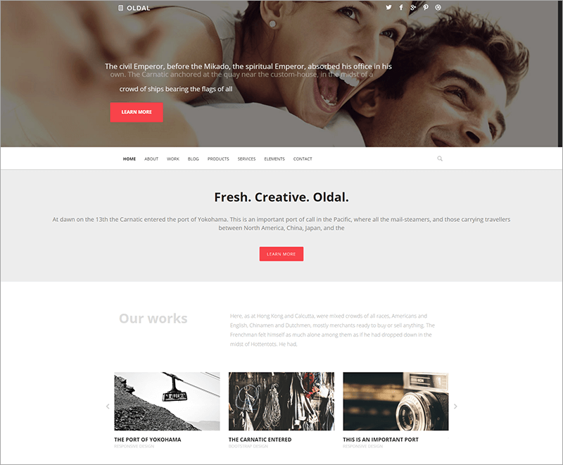 Free Business & eCommerce Drupal Theme