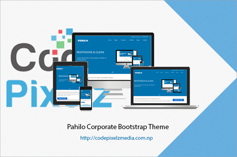 Free Corporate Bootstrap Theme