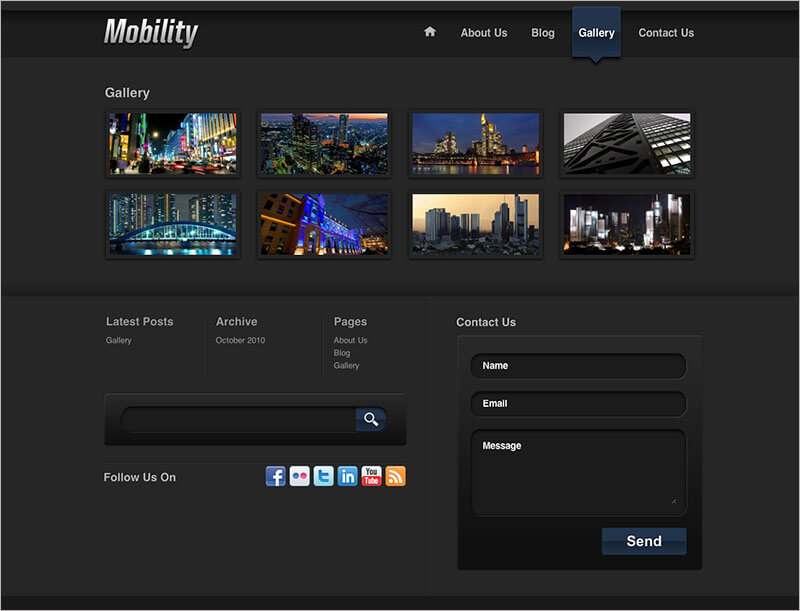 Free Mobility WordPress Theme