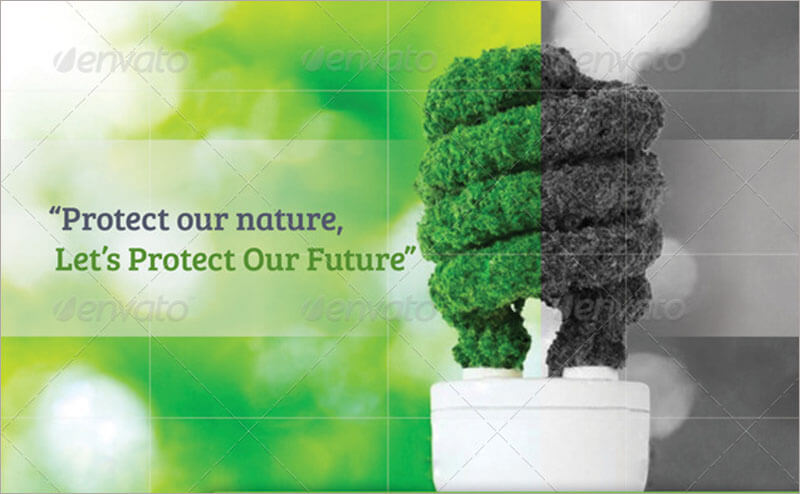 Green Energy Brochure Template