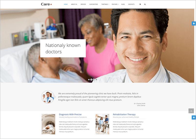 Health Blogging WordPress Theme