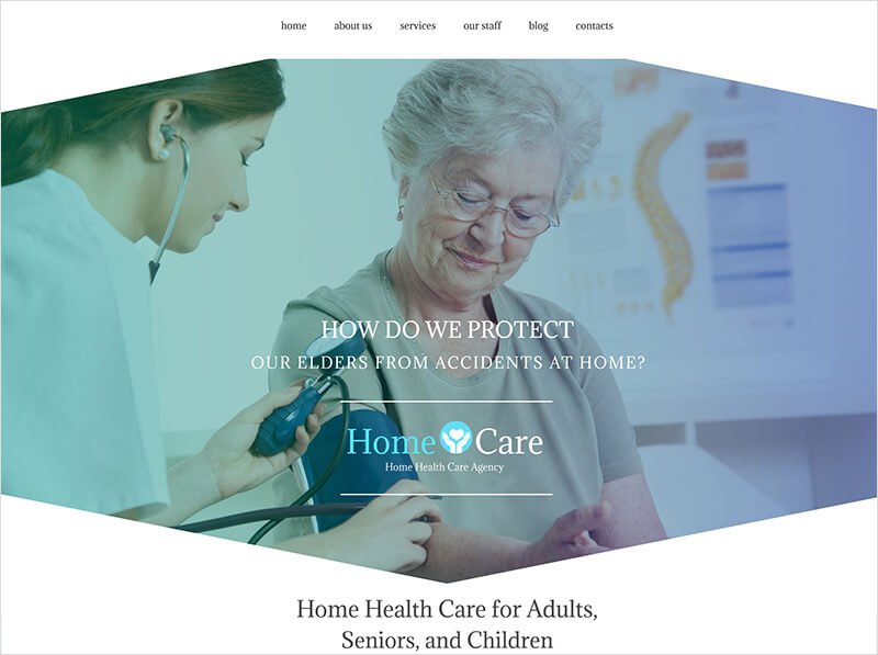 Home Care WordPress Template