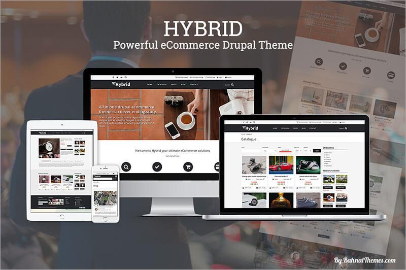 ecommerce drupal themes