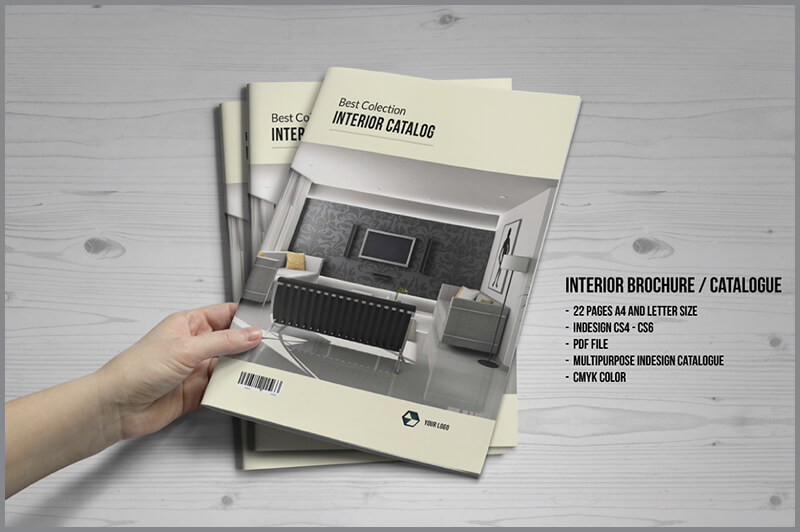 Interior Brochure & Catalogue