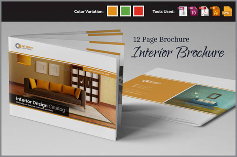 Interior Brochure InDesign Template