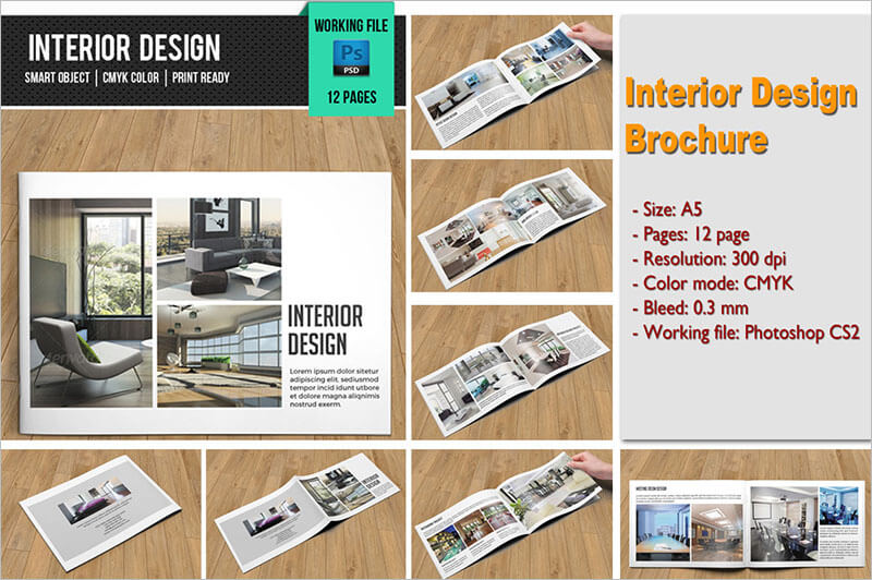 21 Interior Amp Exterior Brochure Templates Amp Themes