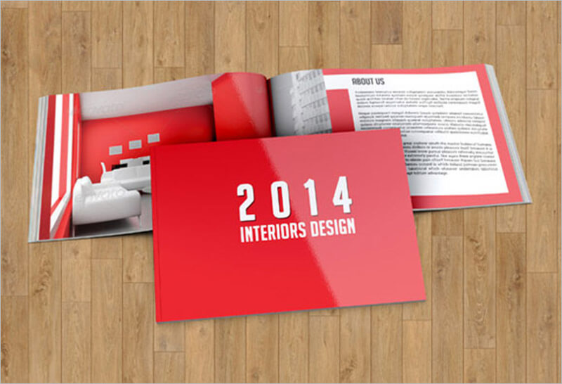 Interior Design Customisable Brochure