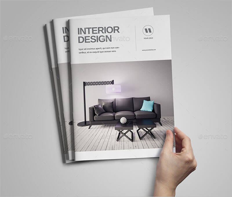 Brochure Interior Design About Furniture ~ Interior exterior brochure templates themes