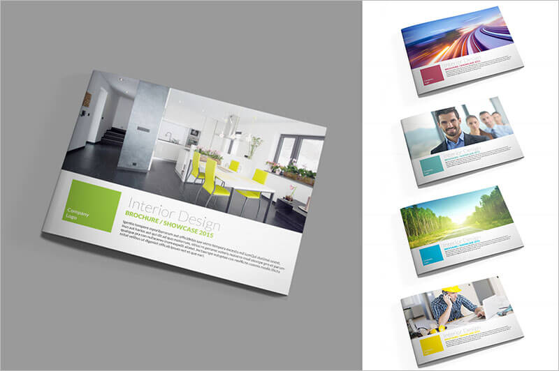 Interior  Exterior Brochure Templates  Themes  Creative