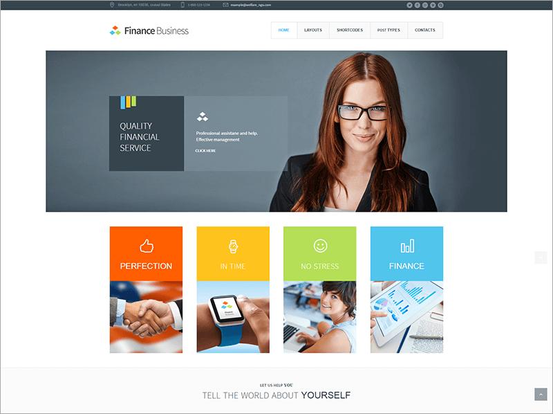 Latest Accounting WordPress Theme