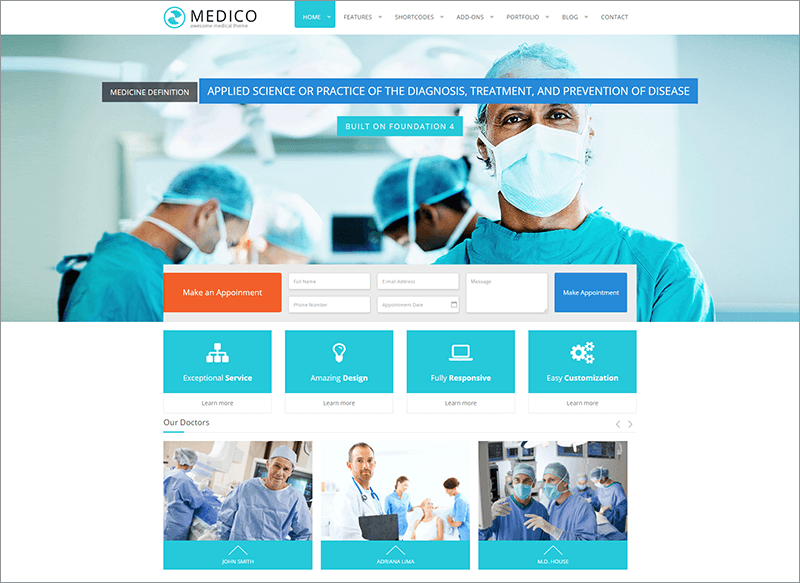 Medical & Health HTML Template