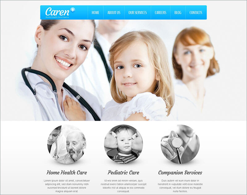 Medical WordPress Blog Template