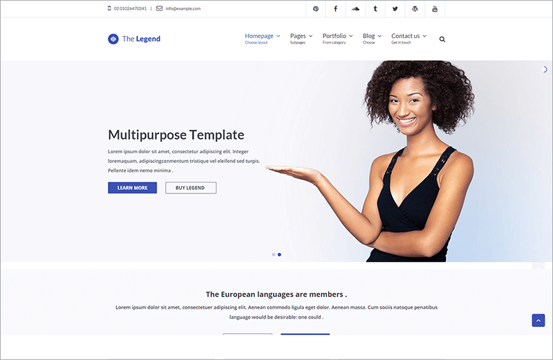 Multi-Purpose HTML Template