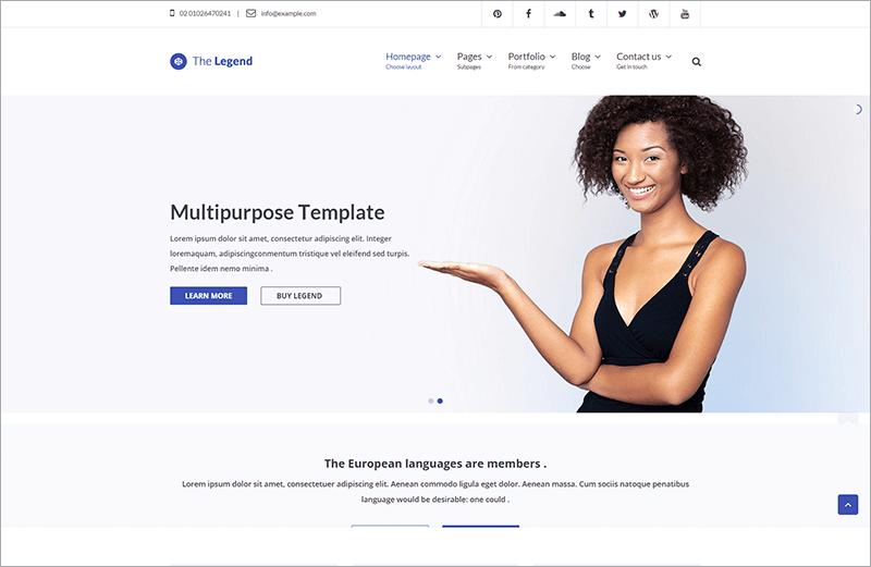 Multi-Purpose HTML Template