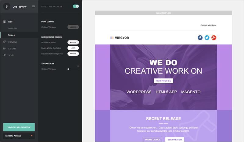 Multipurpose Creative Email Template