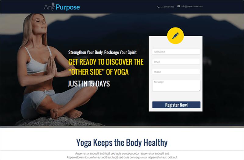 Multipurpose Pagewiz Landing Page