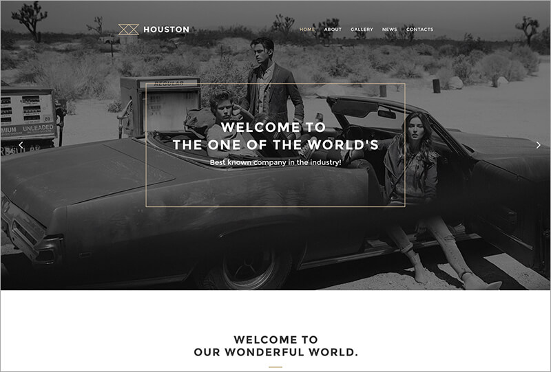 New Bootstrap WordPress Theme