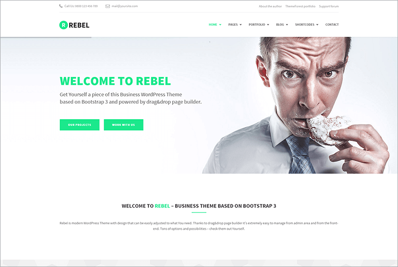 Responsive Corporate Bootstrap Theme