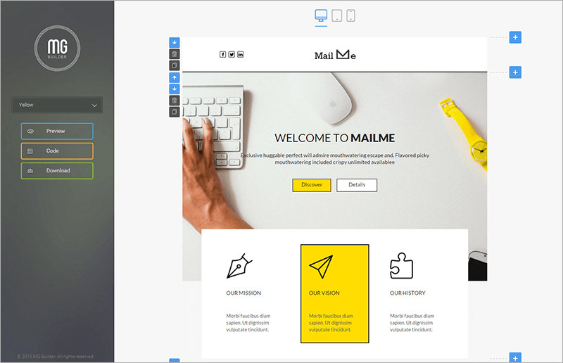 Responsive Email Power Pack Template