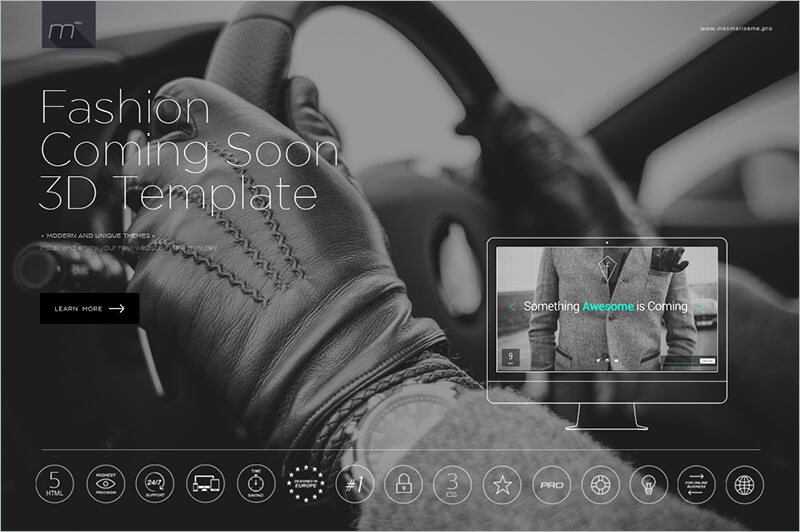 Responsive Fashion PHP Template