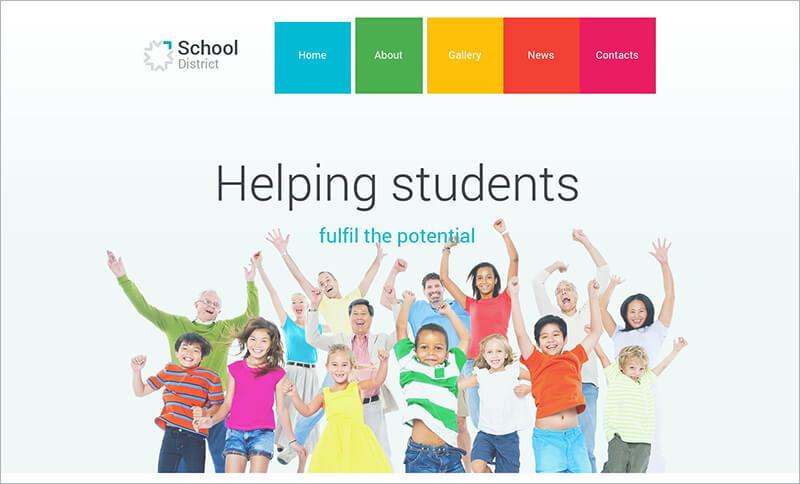 School PHP Theme
