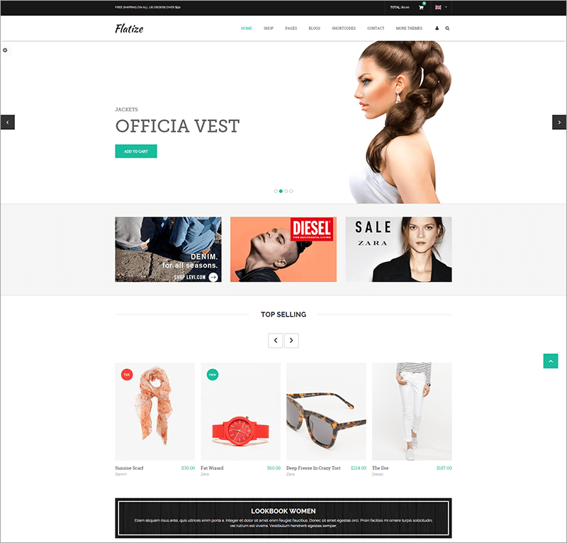 Shopping & eCommerce Drupal Theme