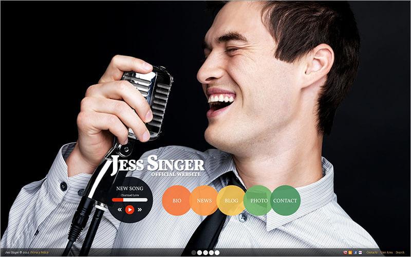 Singer Drupal Template