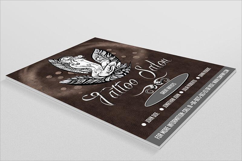 Tattoo Salon Flyer Template