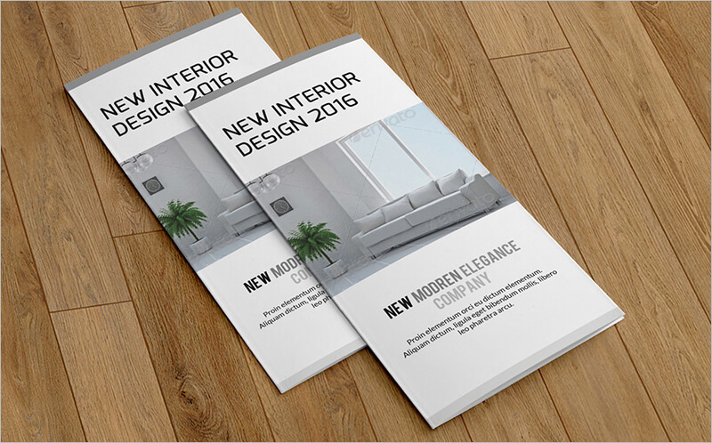 Trifold Interior Brochure Template