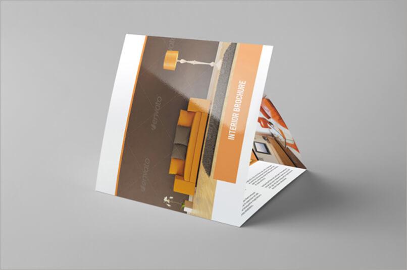 Tri fold Interior Brochure