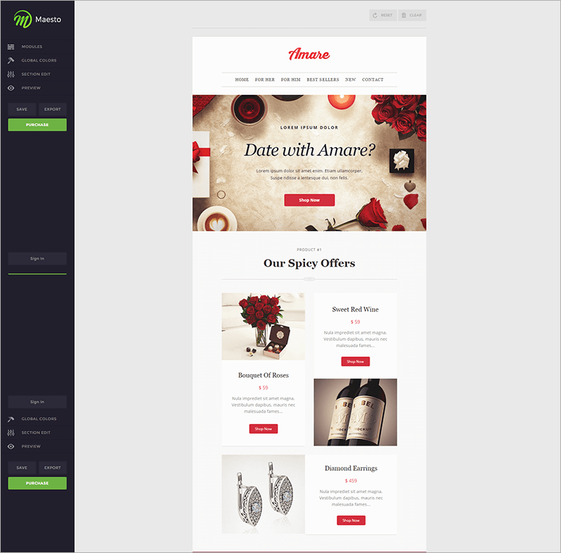 10 + Free Gmail Email Templates | HTML, PSD Designs