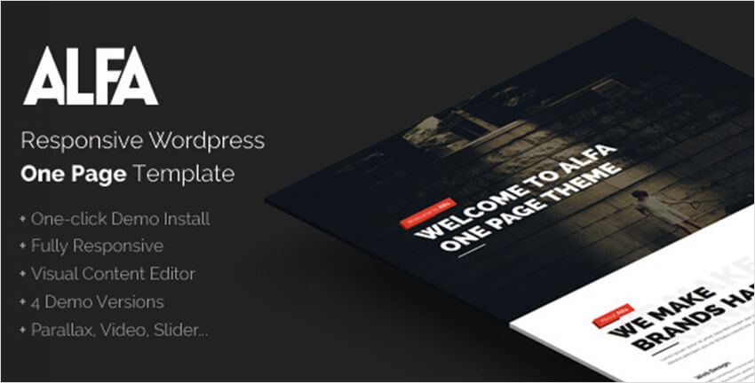 WordPress Flat Theme For Studios & Agencies