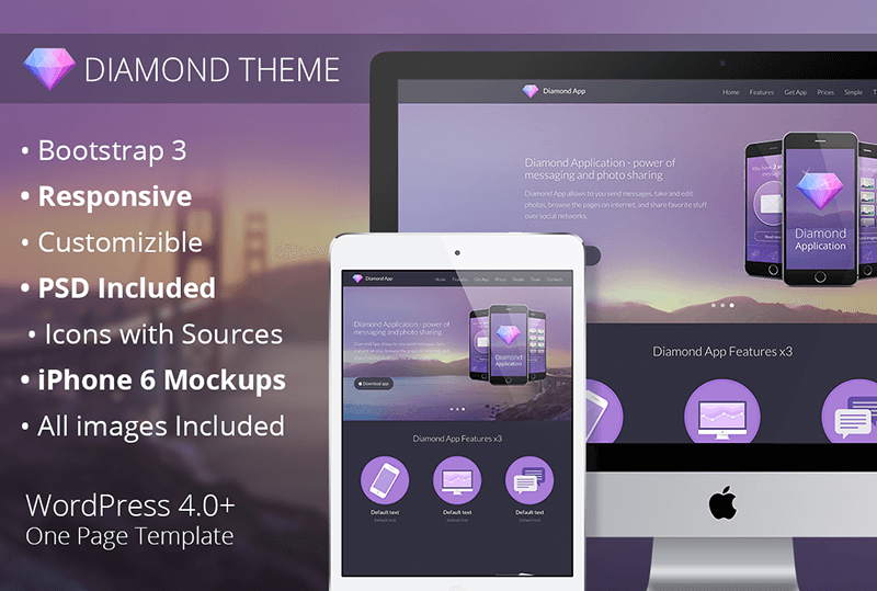 WordPress Flat Theme