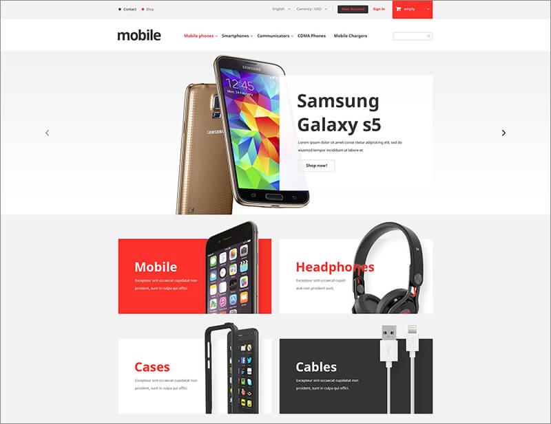 Best Mobile Phones Store PrestaShop Theme