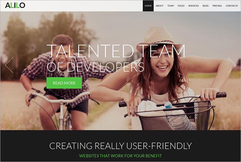 Creative Design Studio Bootstrap Template