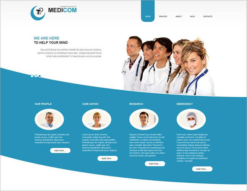 Creative Medical Joomla Theme