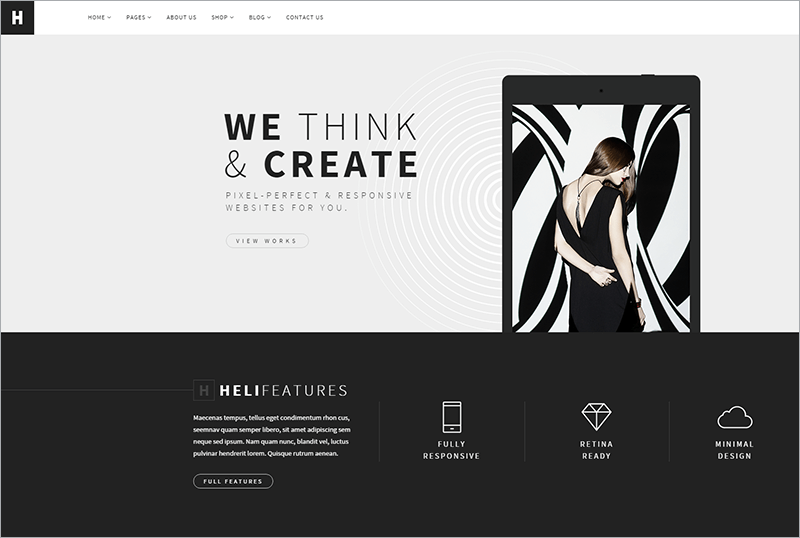 Creative Multi purpose Joomla Template
