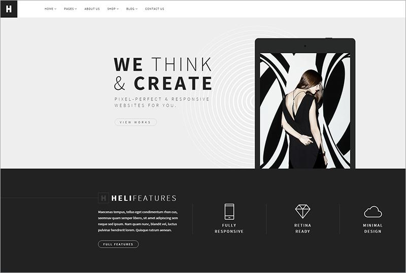Creative Multi purpose Joomla Template