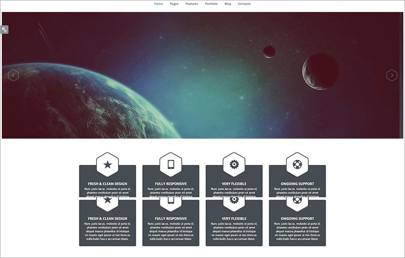 Creative Portfolio Website Theme
